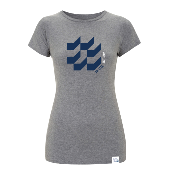 Damen T-Shirt Grau XXL